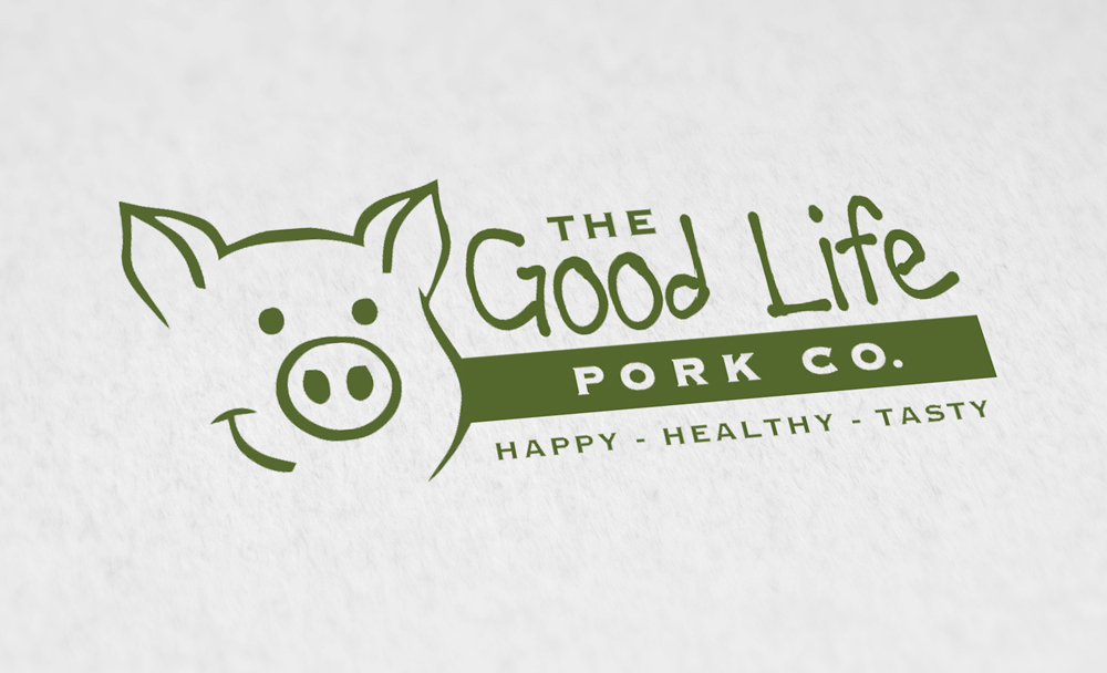 The Goodlife Pork Logo