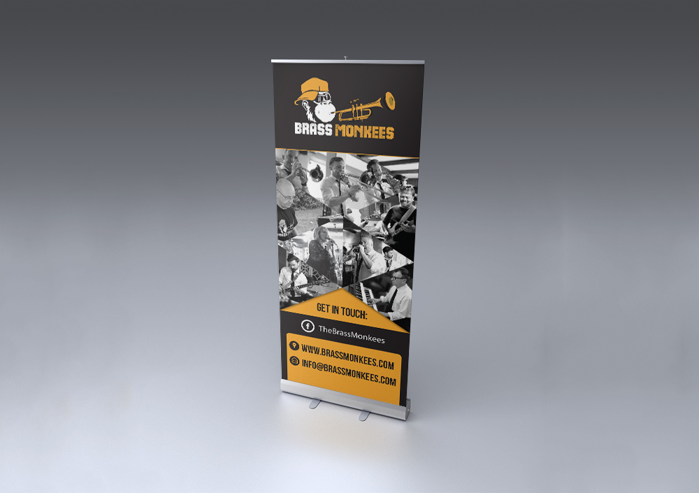 Mock-up – Roll-up – 85x200 cm