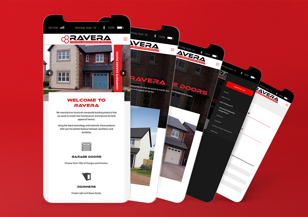 Ravera Mobile Website