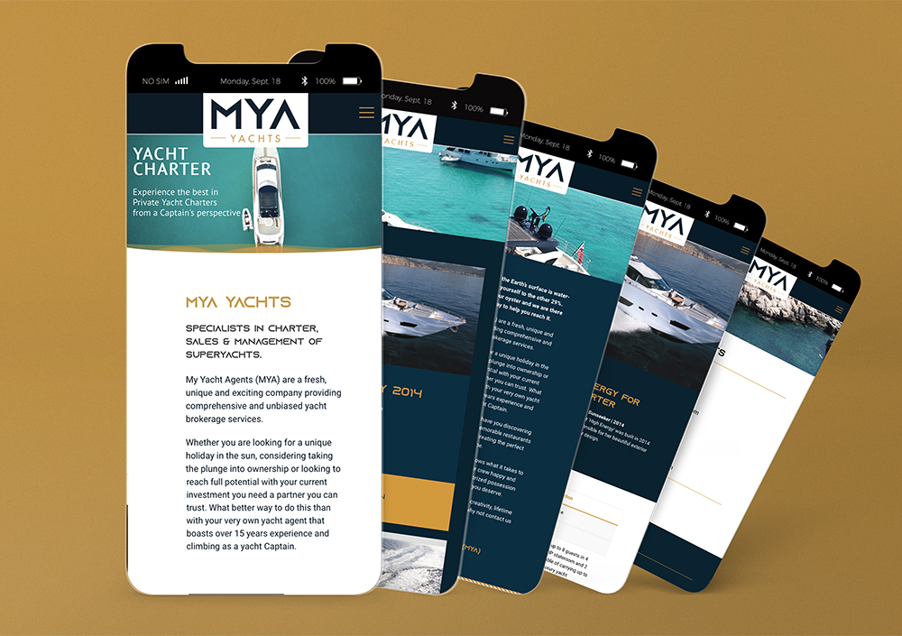 MYA Yachts Website 3