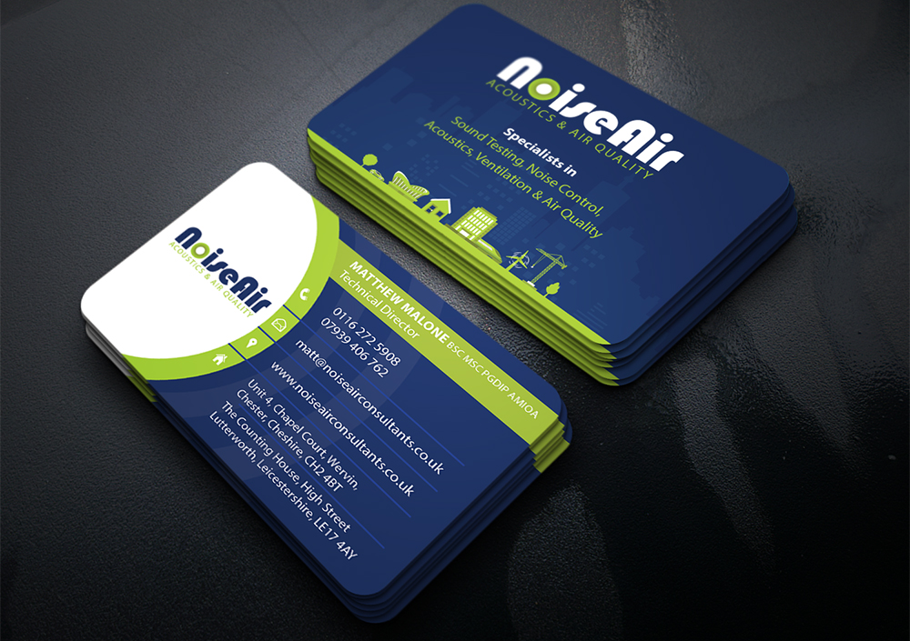 NoiseAir Business Cards