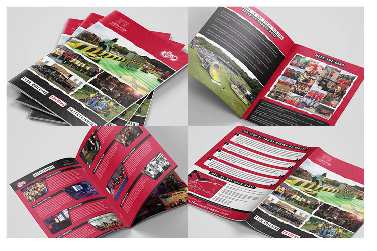 The Event Station Brochure Design