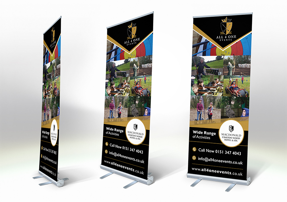 All 4 One Events Popup Banner