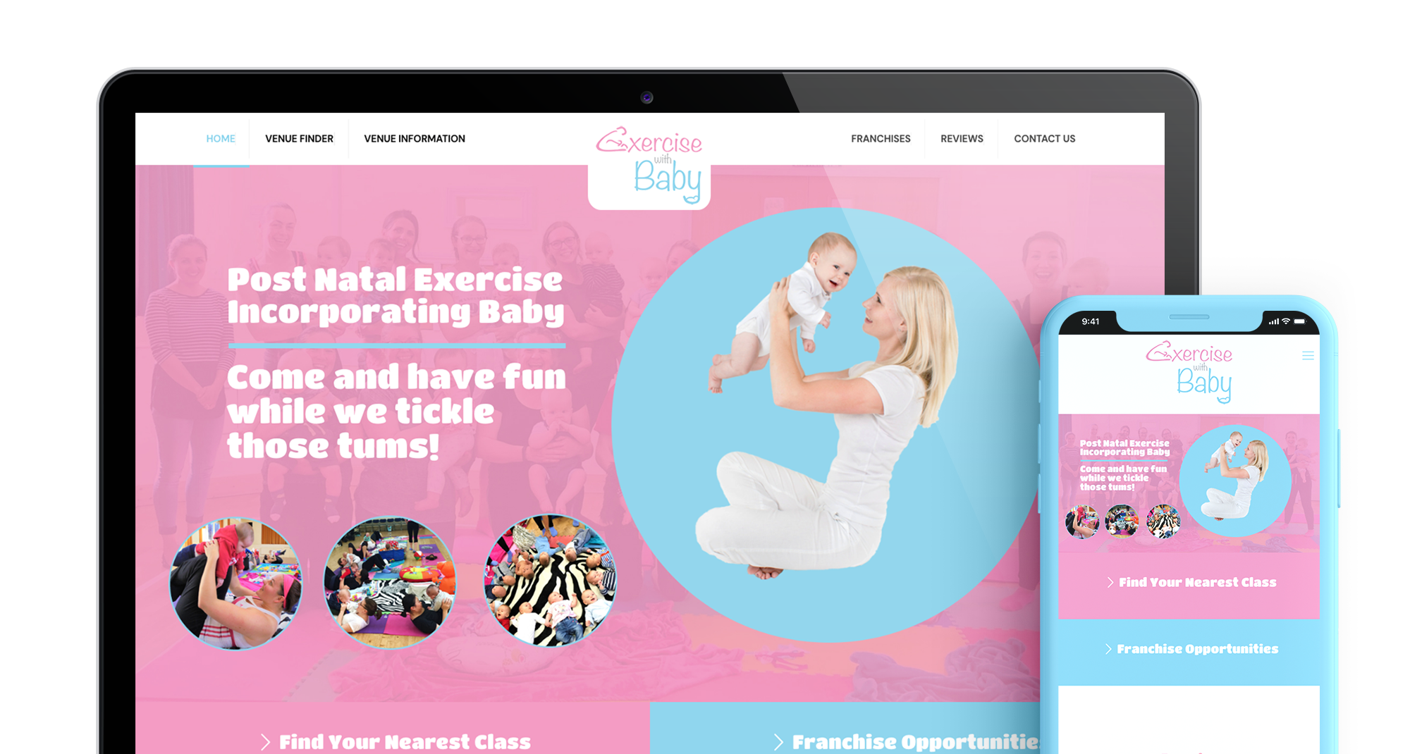Exercise with Baby Header Main Image