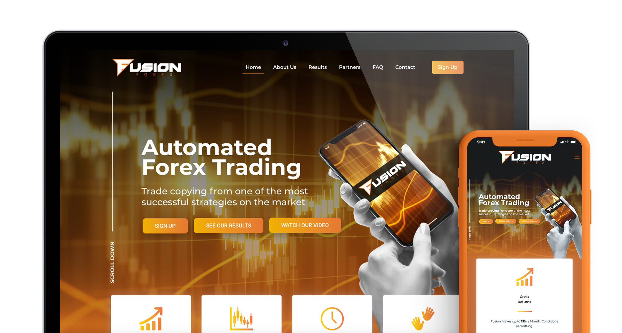 Fusion Forex Header Main Image