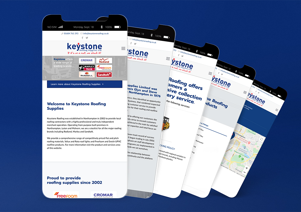 Keystone Mobile Website