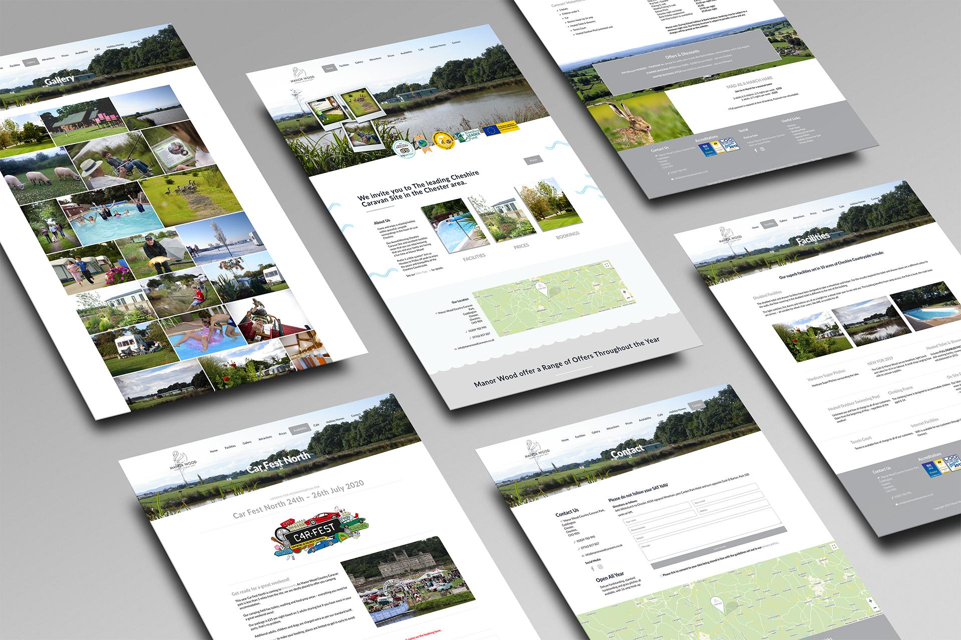 Manor Wood Website 1