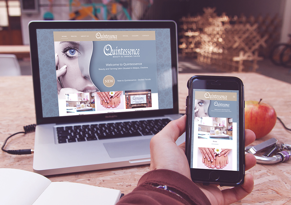 Quintessence Website 2