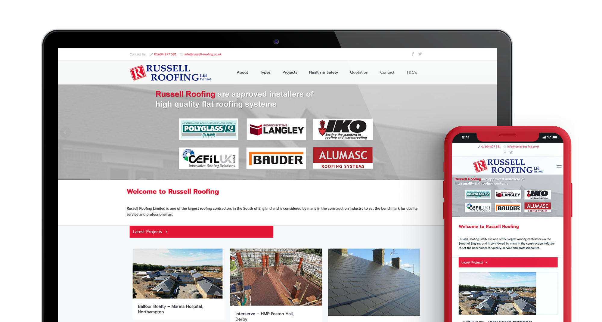 Russell Roofing Header Main Image