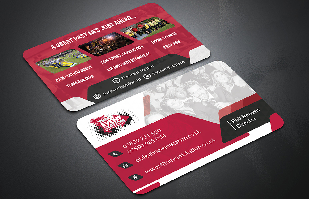 The Event Station Business Cards